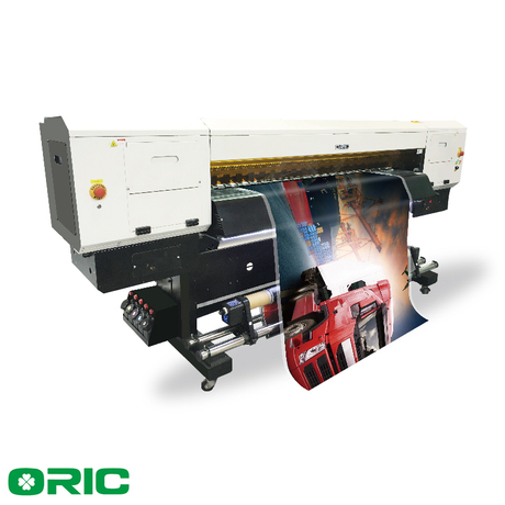 OR18-G5-UV3 1.8m UV Roll To Roll Printer With Three Ricoh GEN5 Print Heads